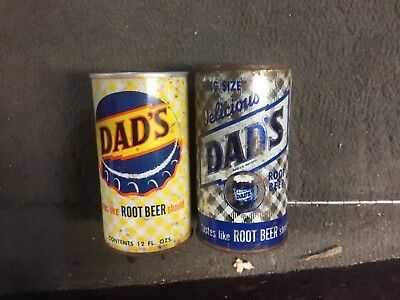 Early Dad's silver flat and pull tab