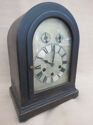Antique German Phillip Hass Westminster Chime Bracket Clock For Restoration