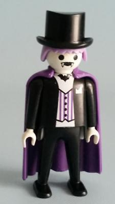 Playmobil Count Dracula Figure 4506 Top Hat Purple Cloak Goth Vampire  Halloween 37ddbf8cbf92