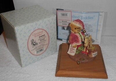 "2001 Enesco Cherished Teddies ""Wendall"" Have You Been Naughty or Nice #848565"