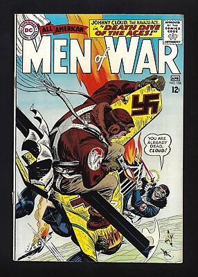 All American Men Of War #108  Very Good Fine 4.5/5.0!  Cool Cover!  1964