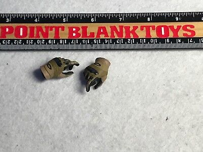 1//6 Scale Male Glove Hands Fit BBI SOLDIER STORY TOYS CITY X68-16