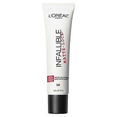 LOREAL Infallible Matte Lock Mattifying Primer Base 120 NEW 30mL