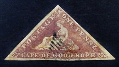 nystamps British Cape of Good Hope Stamp # 12b Used $275