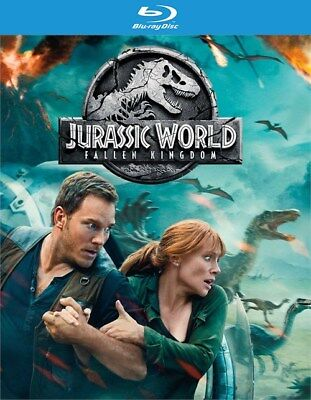 Jurassic World: Fallen Kingdom (Blu-ray Disc ONLY, 2018)