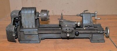 "Craftsman 4"" metal lathe 109.20630 small bench model jeweler gunsmith watchmaker"