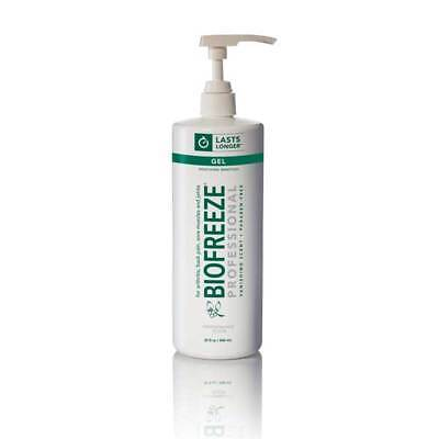 Biofreeze 32 Oz Quart Pain Relieving Gel Pump Bottle Genuine Professional