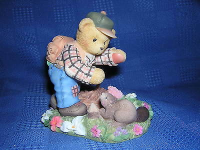 CHERISHED TEDDIES CAMERON Hiking Canadian Exclusive NEW Never Displayed