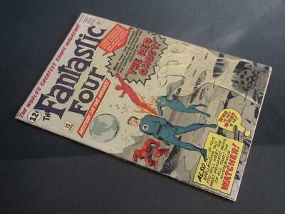 Fantastic Four #13 - HIGHER GRADE - MARVEL 1963 - 1st Watcher/ 1st app Red Ghost