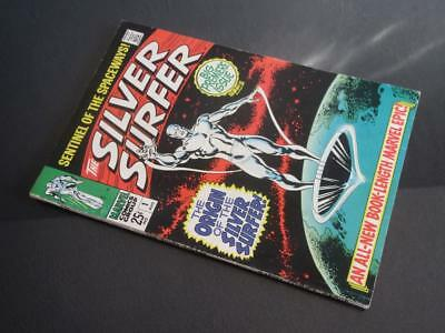 Silver Surfer #1 - HIGHER GRADE - MARVEL 1968 - ORIGIN of Silver Surfer!!!