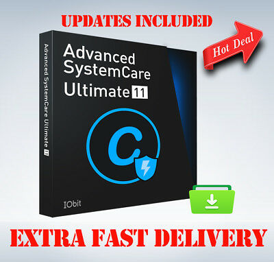 Advanced System Care Ultimate 11 LifeTime Genuine License Key  Update's (3 PCs)