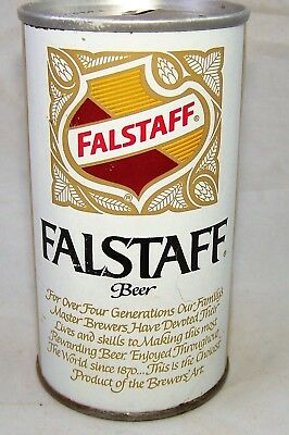 Falstaff Test Can Pull Top Beer Can, Clean Can, USBC II 232-14, Very Tough, MO