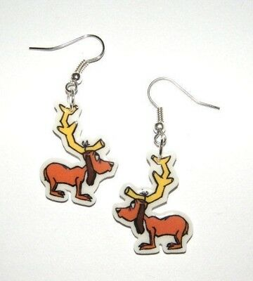 Grinch Stole Christmas Dog.Max The Dog From The Movie Book How The Grinch Stole Christmas Earrings