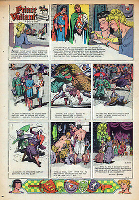 Artist Hal Fosters Personal Copies Of 34 1949 Prince Valiant Sundays