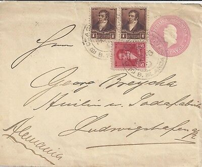 Argentina to Germany - Ludwigshafen -  Postal History