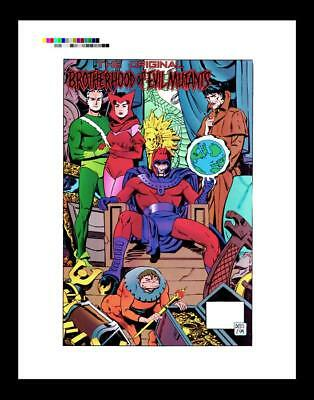 Paul Smith X-Men Unlimited #7 Rare Production Art Pin-Up