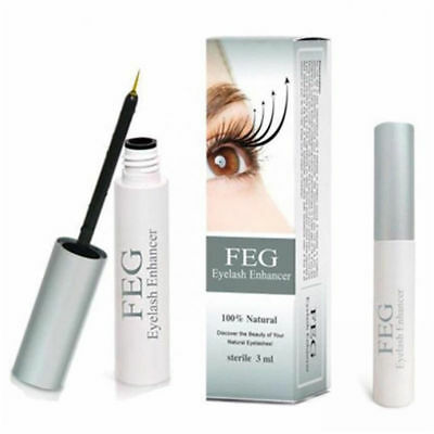 3ML FEG Eyelash Enhancer Eye Lash Rapid Growth Serum Liquid Natural