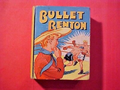 SCARCE Vintage 1939 Bullet Benton Big Little Book Comics Boxing 1169 M350