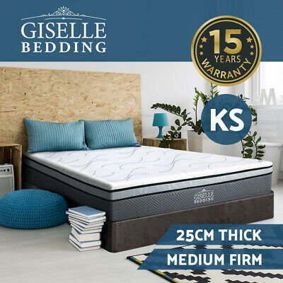 Giselle Bedding Memory Foam Mattress King Single Size Bed Cool Gel Non Spring