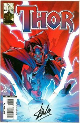 Thor #9 Dynamic Forces Signed Stan Lee Df Coa 6/10 Marvel Comics Movie