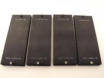 Lot of 4  GSC-120852-R1, T2407836 Chip IC Adujustable Matrix Tray T37013