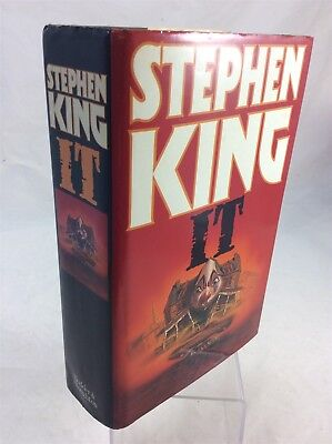 IT - Stephen King - 1986 1st Edition - Hodder & Stoughton - HB Book with DJ