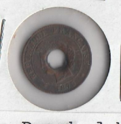 Coins from earlier Indochina= COCHIN CHINA; sapaque-1875