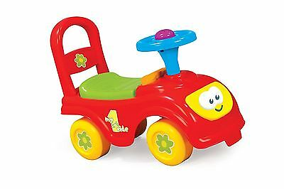 My  First Ride Walking Automobile Car On Childrens Kids Infants 18+ Multi Colour