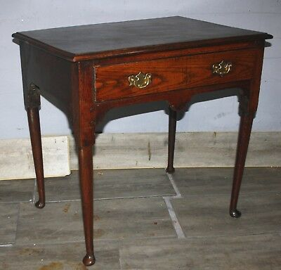 Very good Welsh George 11 oak country side table 1730