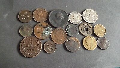JOB LOT OF INTERESTING OLD COINS  99p OX10-3