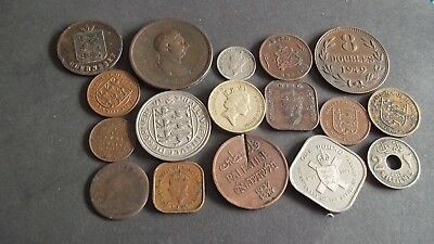 JOB LOT OF INTERESTING OLD COINS  99p MG4-3