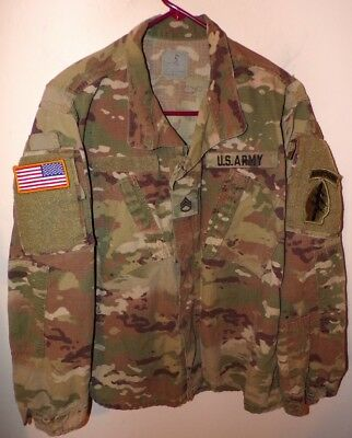 Us Army Scorpion Opc Camo Combat Coat - Medium/regular - Special Forces