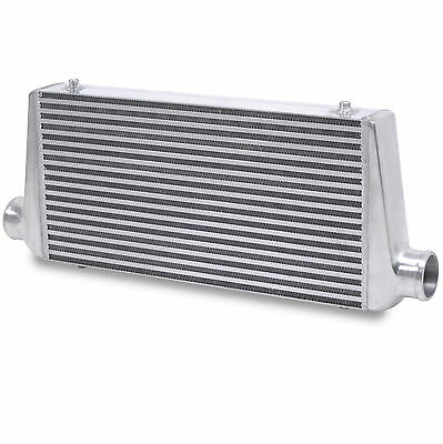 "3"" 76mm ALUMINIUM ALLOY 600x300x76mm SPORT RALLY FRONT MOUNT INTERCOOLER FMIC"