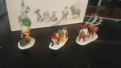 Deparment 56 North Pole Accessory Santa's Little Helpers