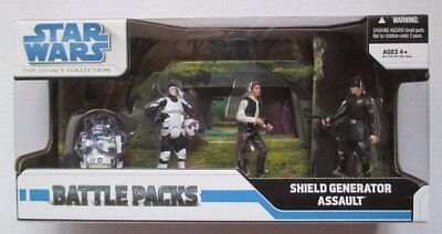 Hasbro Star Wars The Legacy Collection Battle Packs Shield Generator Assault