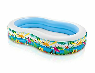 Intex Swim Center Inflatable Paradise Seaside Kids Swimming Pool | 56490EP
