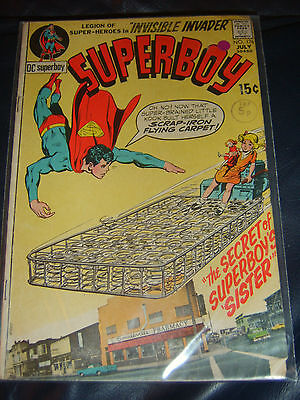 Superboy #176 July 1971 (FN) Bronze Age Neal Adams Cover