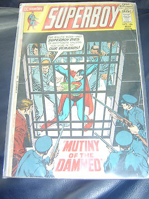Superboy #186 May 1972 (FN) Bronze Age Giant Size