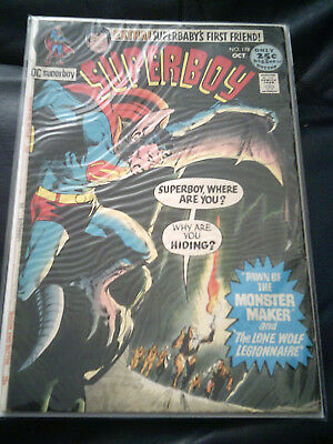 Superboy #178 Oct 1971 (FN) Bronze Age Neal Adams Cover