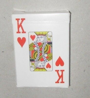 Poker Size Playing Cards Large Numbers Weak or Partially Sighted