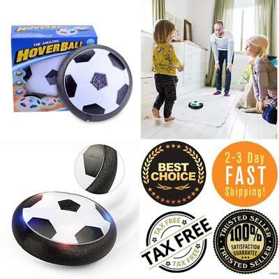 Hover Soccer Ball Electric Air Power Soccer Disc Kids Toys Football W/ LED Light