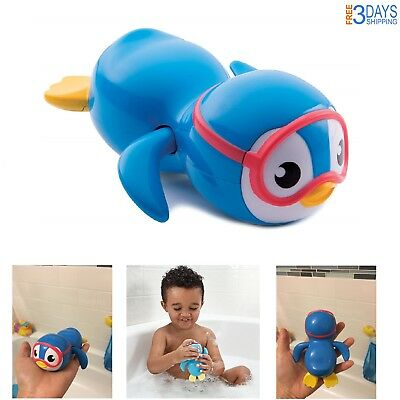 Baby Toy Bath Penguin Floating Tub Wind Up Swim Toddler Safe Child Gift Fun Play