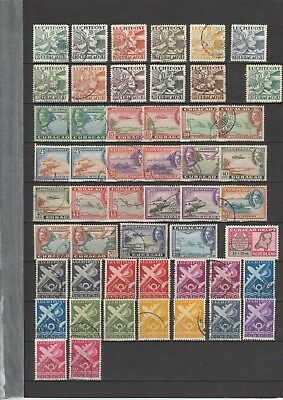 Lot Small Collection Curacao Airmail 1930 - 1950 : 51! X Used Start $ 1.95 !!!!!