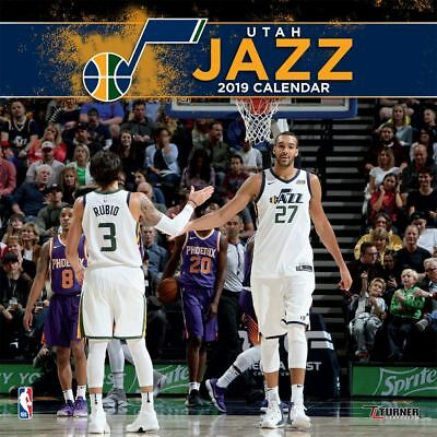 2019 Utah Jazz Wall Calendar, Basketball by Turner Licensing