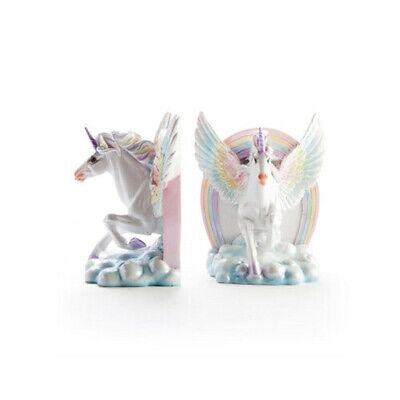 Flying Unicorn Bookends BRAND NEW