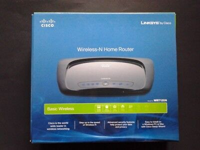 LINKSYS WRT120N WIRELESS-N Home Router WRT120N-RM Very Good