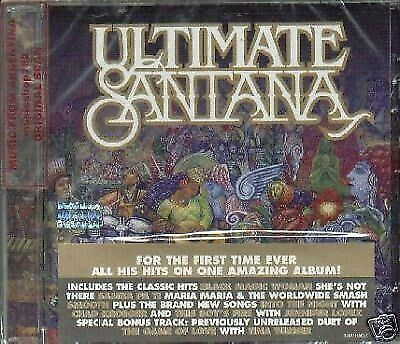 Santana Ultimate Sealed Cd New 2008 Best Greatest Hits
