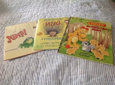 Lot of 3 Children's Books from Cereal Boxes