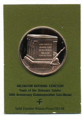 Arlington National Cemetery Tomb of The Unknown Soldier Vintage Medal CHARITY