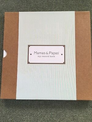 NEW Mamas and Papas Made with Love Unisex Baby Record Book Diary Journal